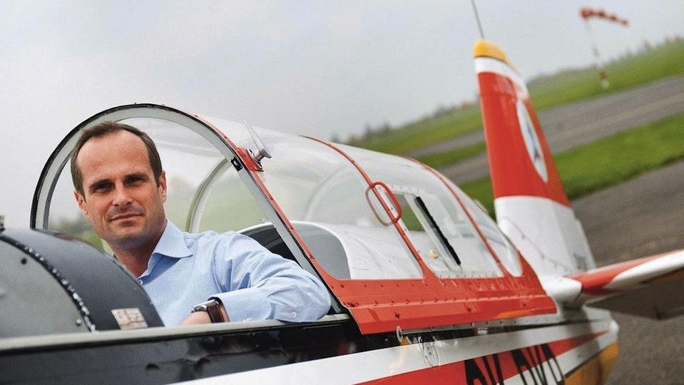 pilot Milan Mikulecký