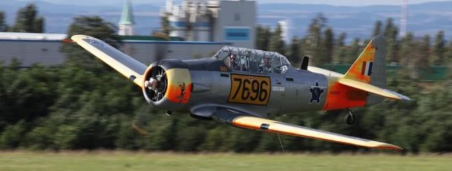 pilot Radim Vojta Historická letka