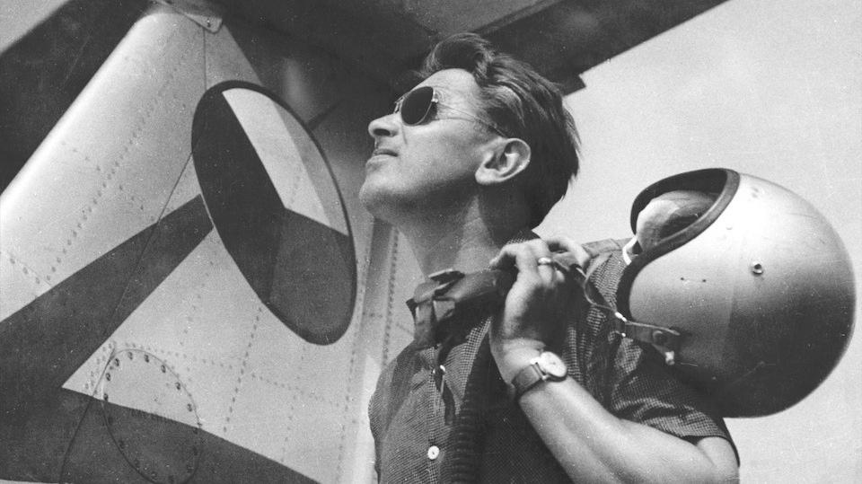 Rudolf Duchoň zkušební pilot VZLÚ