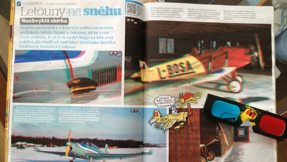 časopis abc 3D foto