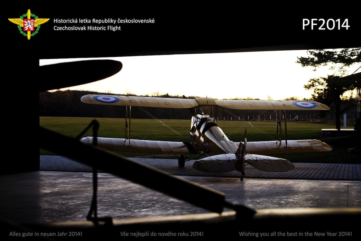 PF 2014 Czechoslovak Historic Flight