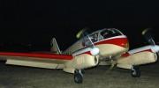 Aero 145 po dorolování před hangár
