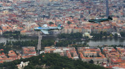 Historic flight over Prague 007
