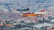 Historic flight over Prague 012