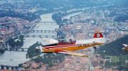 Historic flight over Prague 013