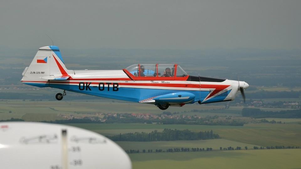 Setkání letounů Zlín Trenér