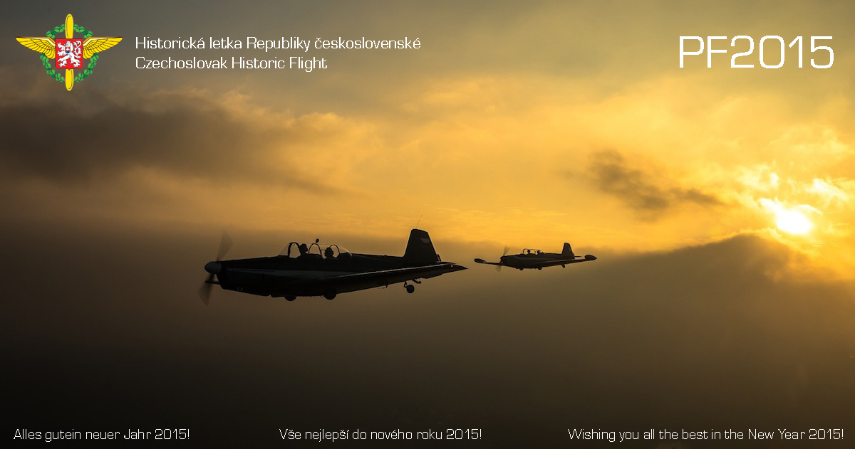 PF 2015 Czechoslovak Historic Flight