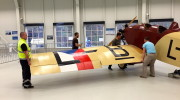 Avia BH 5 přesun z Muzea Točná 02