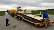 Avia BH 5 přesun z Muzea Točná 05